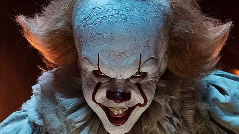 Pennywise smiling creepily