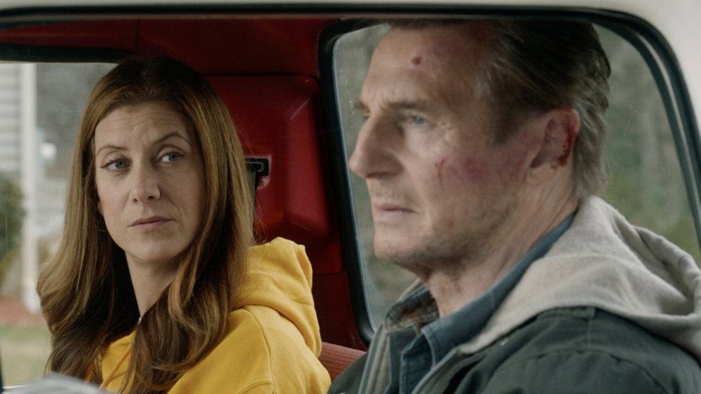Liam Neeson and Kate Walsh in Honest Thief