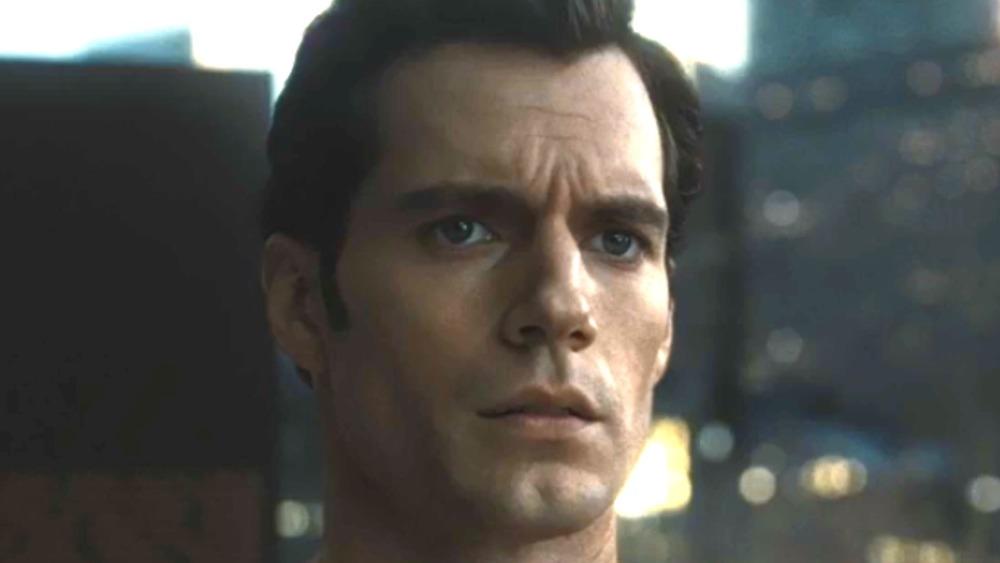 Superman looks worried
