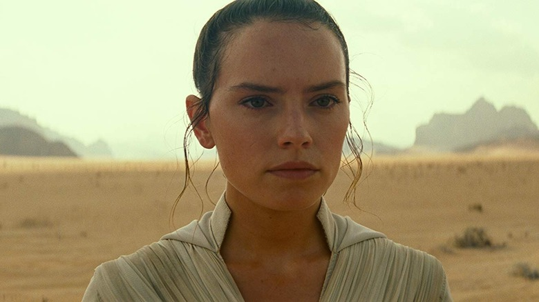 Daisy Ridley as Rey in The Rise of Skywalker