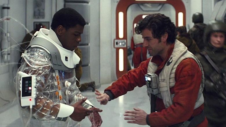 Star Wars: The Last Jedi Poe and Finn