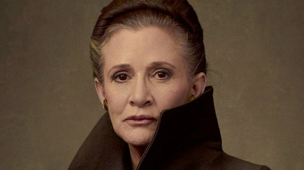 Carrie Fisher Leia The Rise of Skywalker