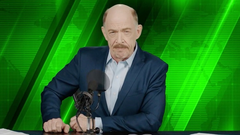 J.K. Simmons as J. Jonah Jameson in Spider-Man: Far From Home