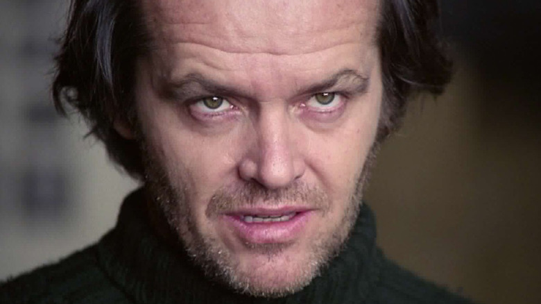 Jack Nicholson looking up
