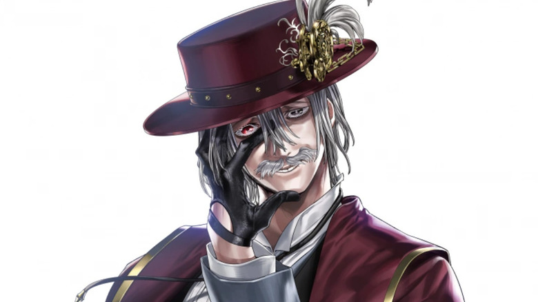 Jack the Ripper as depicted in the Record of Ragnarok manga