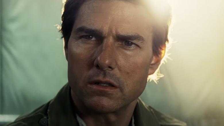 Tom Cruise looking intense