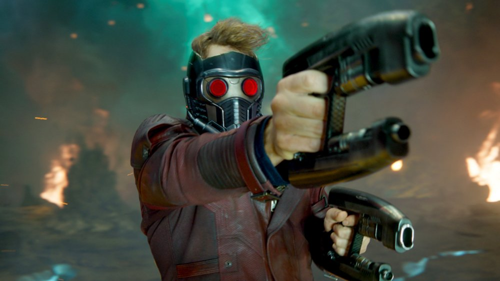 Chris Pratt as Peter Quill in Guardians of the Galaxy Vol. 2