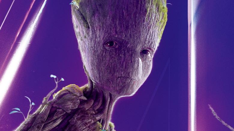 Groot Avengers Infinity War poster