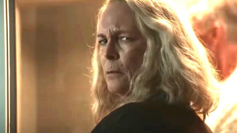 Jamie Lee Curtis as Laurie Strode in Halloween Kills