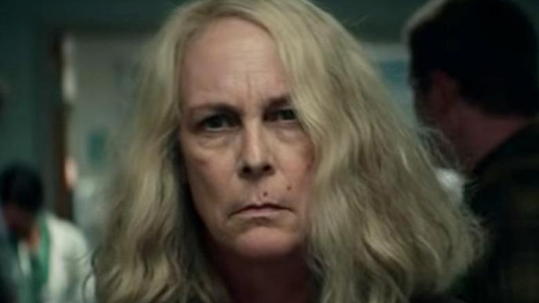 """Jamie Lee Curtis as Laurie Strode in """"Halloween Kills"""""""