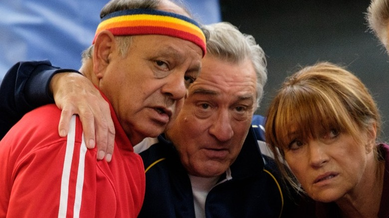 Cheech Marin, Robert De Niro and Jane Seymour in The War with Grandpa