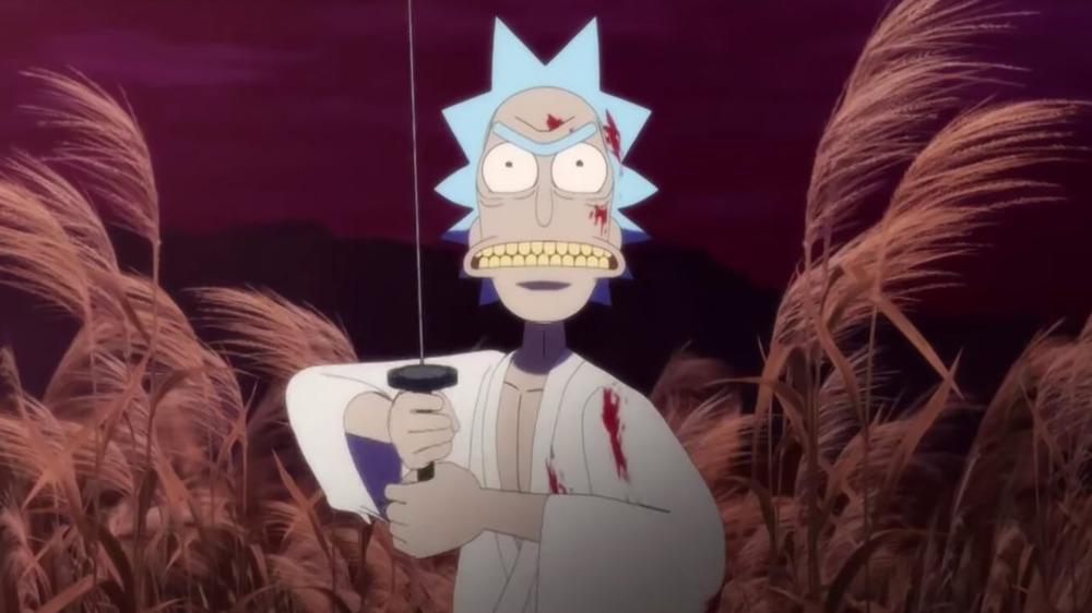 """Rick as a deadly warrior in """"Samurai & Shogun"""""""