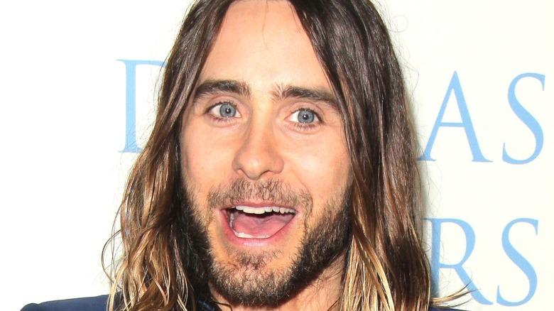 Jared Leto smiling dallas buyers club red carpet