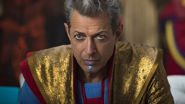 Jeff Goldblum as Grandmaster in Thor Ragnarok