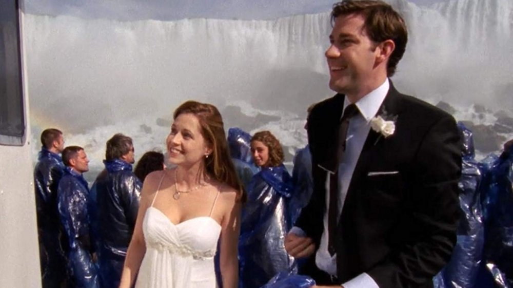 Jim and Pam wedding episode The Office