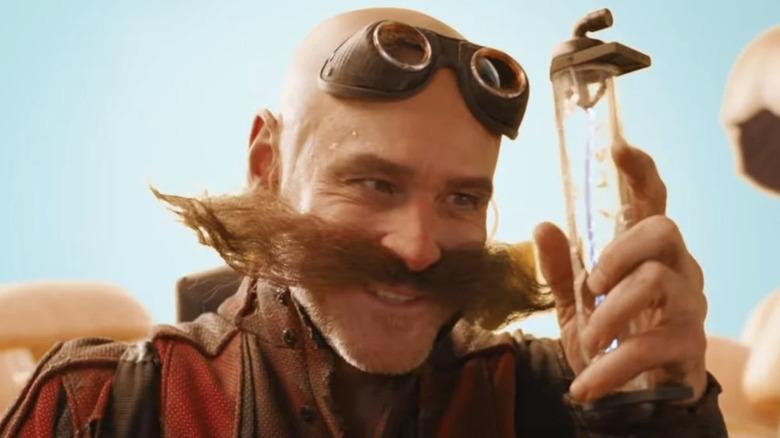 Jim Carrey as Dr. Robotnik in Sonic the Hedgehog