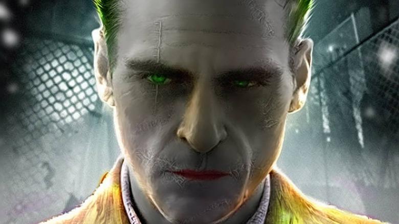 Joaquin Phoenix as the Joker (fan art by royy_ledger