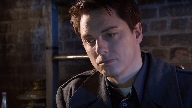 Jack Harkness looking down