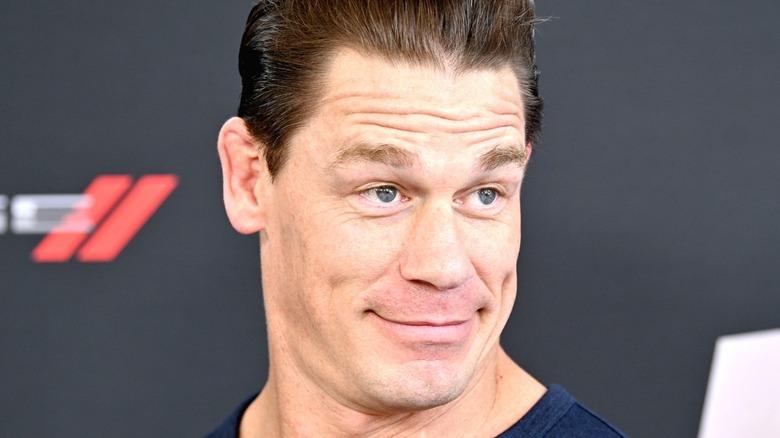 John Cena smirking