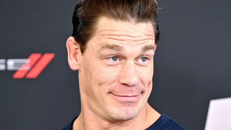 John Cena on red carpet