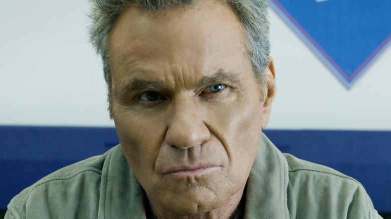 John Kreese looking serious