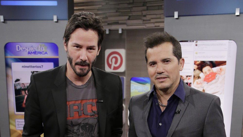 John Wick stars Keanu Reeves and John Leguizamo
