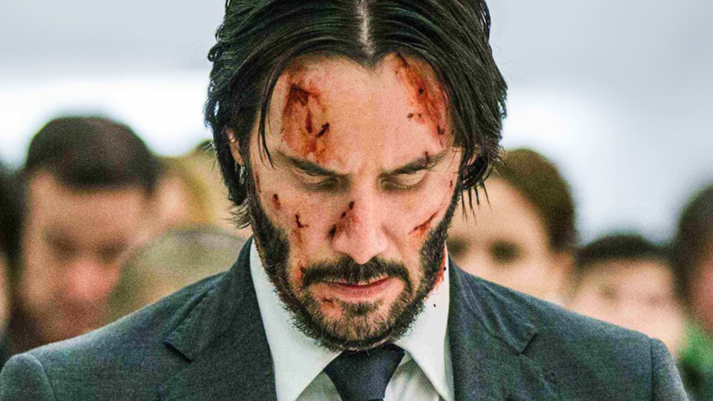 Wick with cuts on face