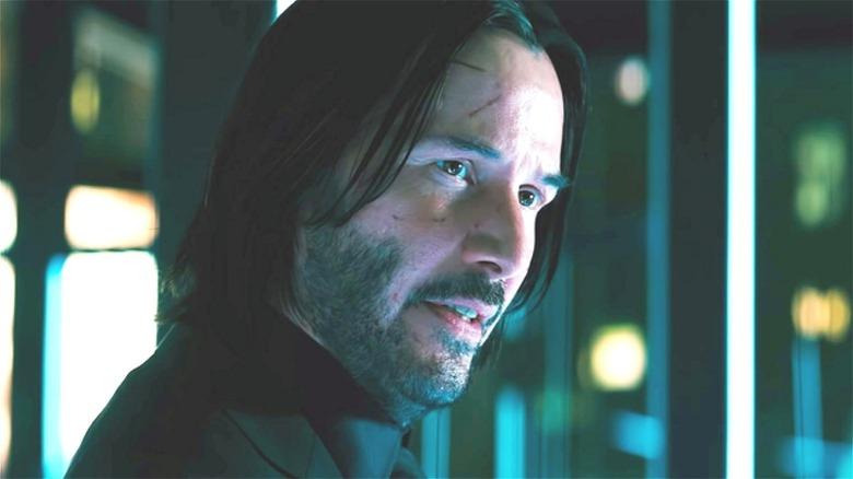 Keanu Reeves John Wick face cuts
