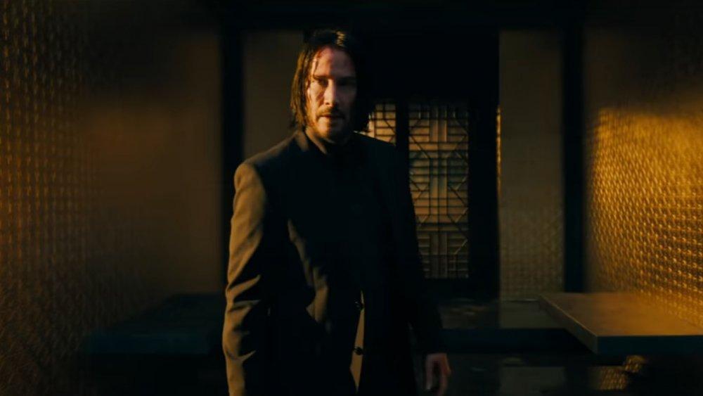Keanu Reeves as John Wick in John Wick: Chapter 3 – Parabellum