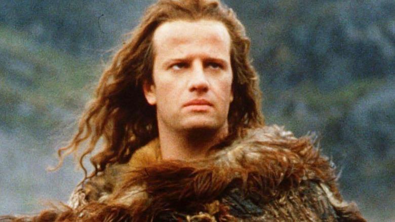 Christopher Lambert as Connor MacLeod Highlander 1986