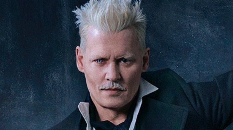 Johnny Depp Fantastic Beasts The Crimes of Grindelwald