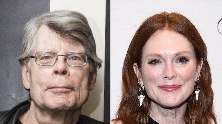 Stephen King and Julianne Moore