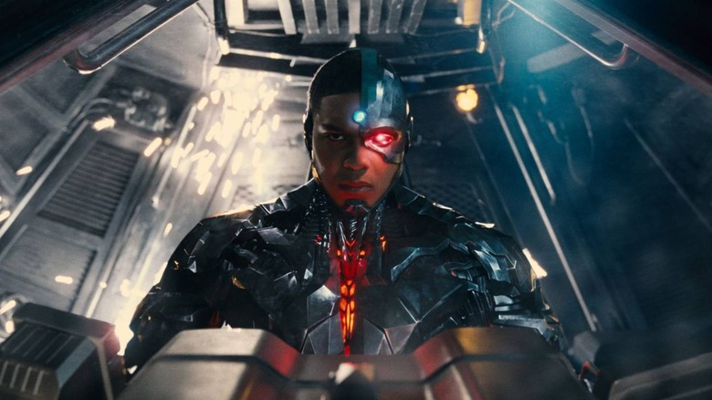 Ray Fisher stars as Cyborg in 2017's Justice League