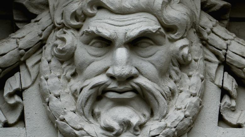 Statue of the Greek god Zeus