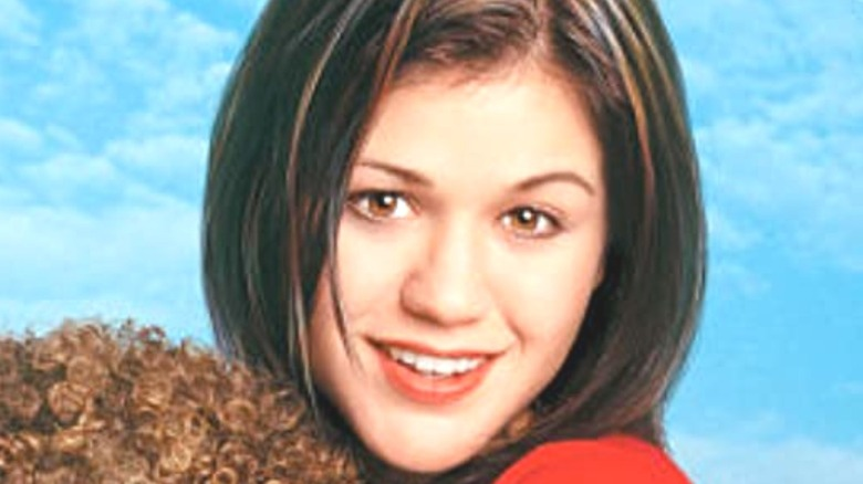 Kelly Clarkson in From Justin To Kelly poster