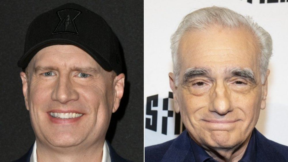 Kevin Feige and Martin Scorsese