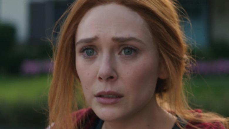 Wanda shocked WandaVision