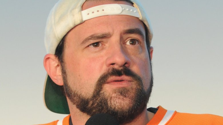 Kevin Smith performing live on stage