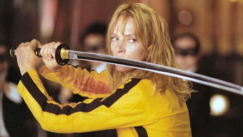Uma Thurman in Tarantino's Kill Bill