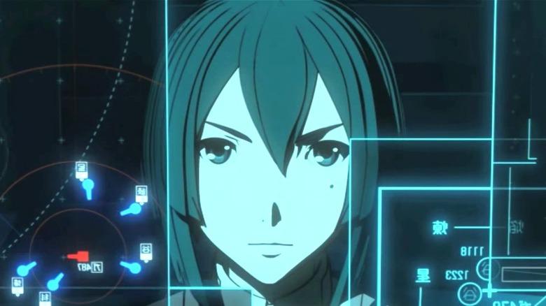 Yuhata Midorikawa looking at a computer screen