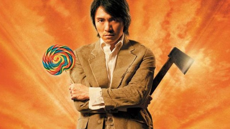 Kung Fu Hustle poster art