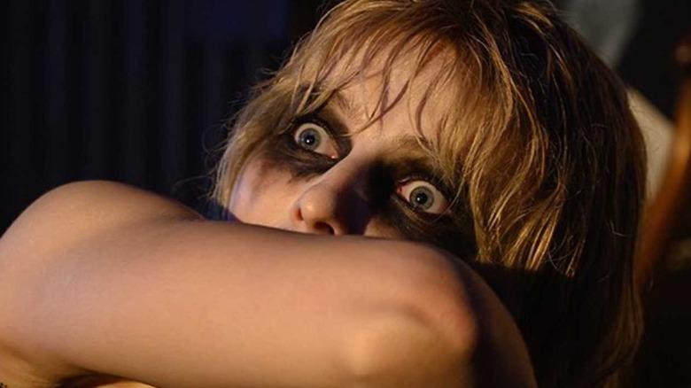 Thomasin McKenzie scared makeup