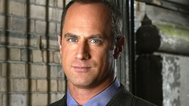 Detective Stabler in close-up