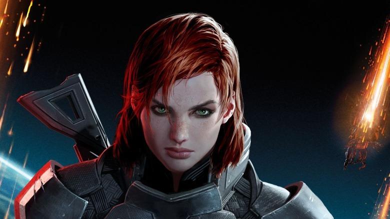 Fem Shepard Mass Effect 3 art