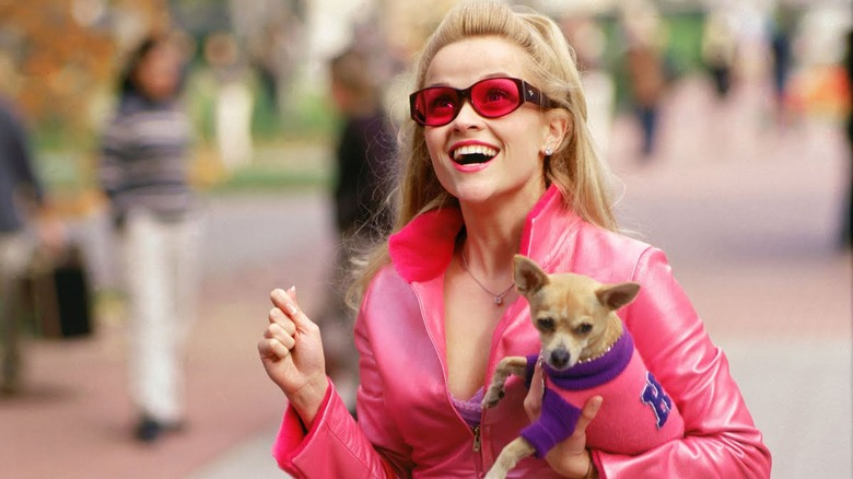 Reese Witherspoon plays Elle Woods in the original Legally Blonde
