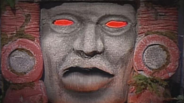 Olmec from hidden temple looking forward