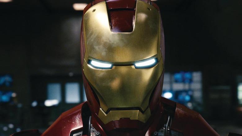 Iron Man helmet in 2008's Iron Man