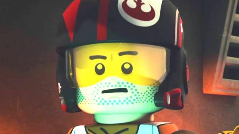 Lego Poe talking