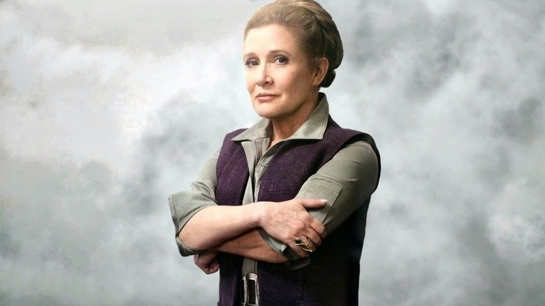 Carrie Fisher as General Leia in Star Wars