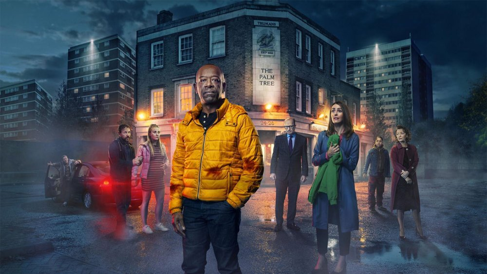 Promo image featuring the cast of Save Me Too starring Lennie James